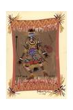 Messengers of Ashe 1, 2006 Giclee Print by Oglafa Ebitari Perrin