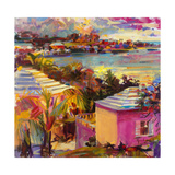 Dusk Reflections, Bermuda, 2011 Giclee Print by Peter Graham
