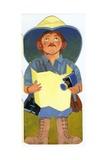 Man Giclee Print by George Adamson