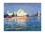 Sydney Opera House, Am, 1990 Giclee Print by Ted Blackall