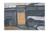 Bridge in Szeged, 1964 Giclee Print by Emil Parrag