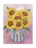 Sunflowers, 1998 Giclee Print by Linda Benton