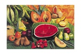 Still Life with Watermelon, 2005 Giclee Print by Pedro Diego Alvarado