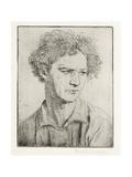Jacob Epstein Giclee Print by Augustus Edwin John