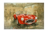 Cobra at Brooklands Giclee Print by Peter Miller