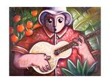 Trovando En Las Marias Giclee Print by Oscar Ortiz