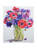 Anemones in a Glass Jug, 2007 Giclee Print by Christopher Ryland