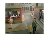 The Town Giclee Print by Caroline Jennings