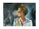 23.10.09 - She Had One Last Cigarette before She Went to Bed, 2009 Giclee Print by Cathy Lomax
