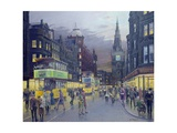 Trongate, Glasgow Giclee Print by William Ireland