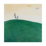 Kite Flying, 2000 Giclee Print by Lincoln Seligman