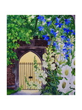 Flowers by a Sunlit Gateway, 2008 Giclee Print by Christopher Ryland