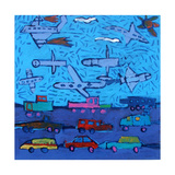 Pollution I Giclee Print by Paul Powis