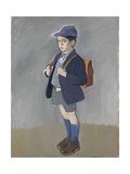 Lachlan in School Uniform, C. 1985 Giclee Print by Alexander Goudie