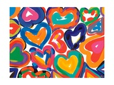 Hearts in Motion Giclee Print by Sarah Gillard