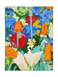 Chelsea Medal Winner - Fetzer Wines - Garden, 2007 Giclee Print by Deborah Barton