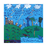 Global Warming Giclee Print by Paul Powis