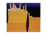 San Gimignano, Tuscany, 2000 Giclee Print by Eithne Donne