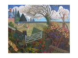 Pembrokeshire Holiday, 2006 Giclee Print by Ian Bliss