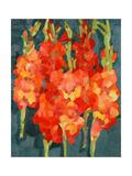 Cornish Gladioli, 2006 Giclee Print by Deborah Barton