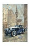 Phantom Near Trafalgar Square Giclee Print by Peter Miller