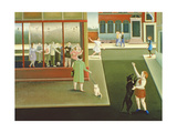 Dancing Lessons Giclee Print by Caroline Jennings