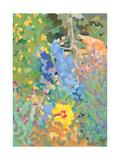 Provencal Garden, 2006 Giclee Print by Deborah Barton