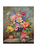June Flowers in Radiance Giclee Print by Albert Williams