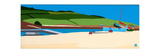 Bryher Boats Giclee Print by Tom Holland