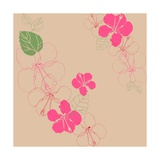 Hibiscus Giclee Print by Anna Platts