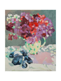 Sweet Peas and Seashells, 2006 Giclee Print by Deborah Barton