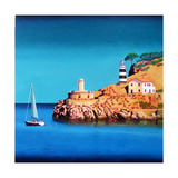 Port Soller 2 Giclee Print by Paul Powis