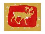 Reindeer, 1960s Giclee Print by George Adamson