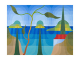 Greek Islands, 2001 Giclee Print by Emil Parrag