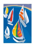 Morning Sail Giclee Print by Sarah Gillard