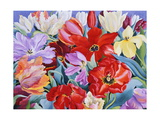 Massed Tulips, 2003 Giclee Print by Christopher Ryland