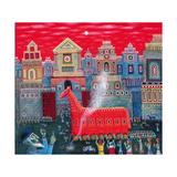 Trojan Horse, 2006 Giclee Print by Tamas Galambos