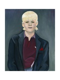 Skinhead Girl, 2005 Giclee Print by Cathy Lomax