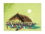 Survival, 2005 Giclee Print by Oglafa Ebitari Perrin