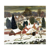 First Fall, Kent Giclee Print by Eric Hains