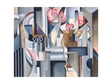 Still Life with Brown Jug Giclee Print by Catherine Abel
