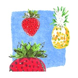 Summer Fruit Giclee Print by Anna Platts