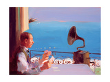 Puccini Blue, 2005 Giclee Print by Alan Kingsbury