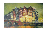 Bright Lights, Amsterdam, 2000 Giclee Print by Antonia Myatt