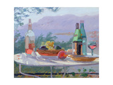 Still Life and Seashore, Bandol Giclee Print by Sarah Butterfield