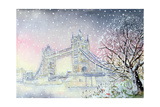 Tower Bridge, 2005 Giclee Print by Tony Todd