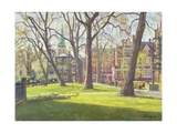 Mount Street Gardens, London Giclee Print by Julian Barrow