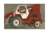 Tracteur, Canville, 2007 Giclee Print by Delphine D. Garcia