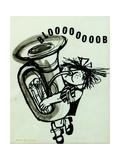 Blooooob! Giclee Print by Brenda Brin Booker