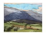 Snowdonia, 1908 Giclee Print by Anna Teasdale